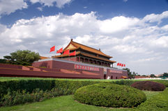 Tian-An-Men Gate, Beijing Stock Images