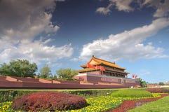Tian-An-Men Gate, Beijing Royalty Free Stock Photography