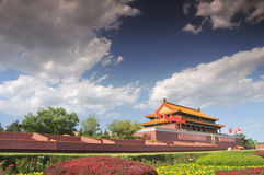 Tian-An-Men Gate, Beijing Royalty Free Stock Photo