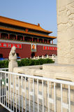 Tian An Men Gate of Beijing Royalty Free Stock Image
