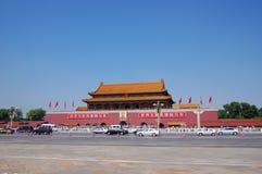 Tian An Men Gate in Beijing China stock image