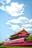 Tian-An-Men Gate, Beijing. Tian'an men the Gate of Heavenly Peace, is located in the center of Beijing stock photography
