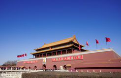 Tian'an men square Royalty Free Stock Photo