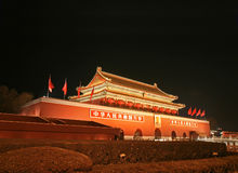 Tian-An-Men Square Royalty Free Stock Photography