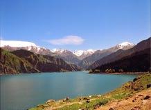 Tian Shan (céu Mountian) Foto de Stock Royalty Free