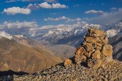 Tian Shan in Kyrgyzstan stock afbeeldingen