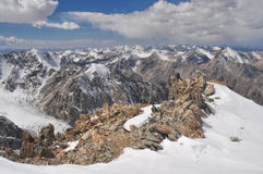 Tian Shan in Kyrgyzstan Stock Photography