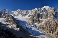 Tian Shan in Kyrgyzstan Royalty Free Stock Photo