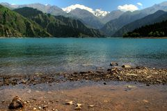 Tian shan mountain Royalty Free Stock Images
