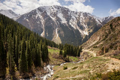 Tian Shan mountain, Kyrgyzstan Stock Photography