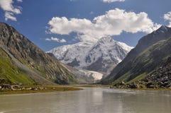 Tian-Shan nel Kirghizistan Immagine Stock
