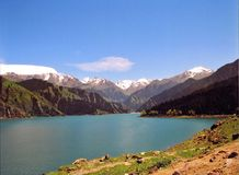 Tian Shan (Sky Mountian) Royalty Free Stock Photo