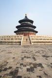 tian solbränt tempel för himmel Royaltyfria Foton