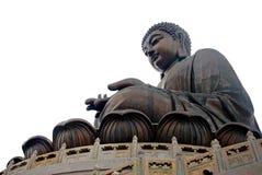 Tian Tan Βούδας ή γιγαντιαίο άγαλμα του Βούδα Po Lin στο μοναστήρι Στοκ Εικόνες
