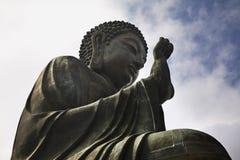 Tian Tan - ο μεγάλος Βούδας Νησί Lantau Χογκ Κογκ Κίνα Στοκ εικόνες με δικαίωμα ελεύθερης χρήσης