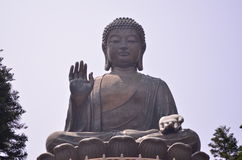 Tian Tan Будда Стоковое фото RF