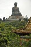 Tian Tan Будда Стоковые Фотографии RF