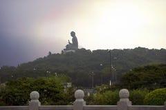 Tian Tan Будда (большой Будда), монастырь Po Lin, Гонконг Стоковое фото RF