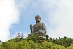 Tian Tan Будда в Гонконге Стоковая Фотография