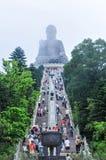 Tian Tan Будда Гонконга Стоковые Изображения RF