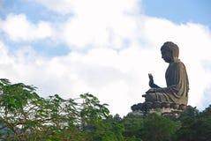 Tian Tan Будда Стоковая Фотография