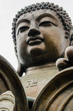 Tian Tan, big Buddha, bronze statue Stock Photography