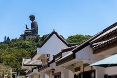 Tian Tan Big Buddha, Hong Kong Immagini Stock