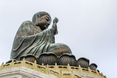 Tian Tan Big Buddha Stock Photo