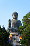 Tian Tan Bouddha Image libre de droits