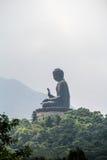 Tian Tan Buda grande Fotografía de archivo