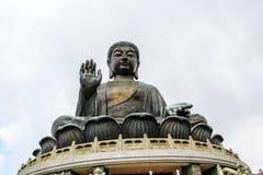 Tian Tan Buda grande Imagenes de archivo