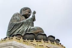Tian Tan Buda grande Foto de archivo