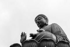 Tian Tan Buddha, île de Lantau, Hong Kong photo stock