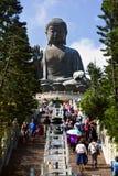 Tian Tan Buddha Foto de Stock Royalty Free