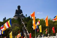 Tian Tan Buddha Foto de Stock
