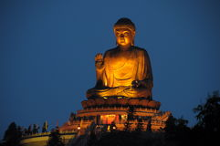 Tian Tan Buddha Foto de Stock Royalty Free