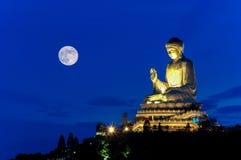 Tian Tan Buddha Fotografía de archivo
