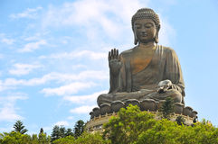 Tian Tan Buddha Royalty Free Stock Photo