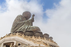Tian Tan Buddha or Big Buddha in Hong Kong Stock Images