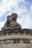 Tian Tan Buddha or Big Buddha in Hong Kong Royalty Free Stock Images