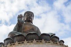 Tian Tan Buddha or Big Buddha in Hong Kong Stock Image
