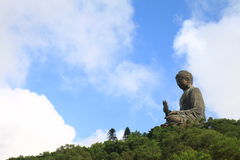 Tian Tan Buddha, the Big Buddha Royalty Free Stock Images