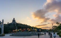 Big Buddha in Hong Kong royalty free stock photography