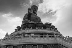 Big Buddha in Hong Kong stock photos