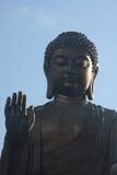 Tian Tan Buddha Blessing Imagen de archivo