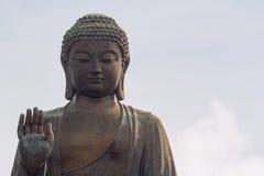 Tian Tan Buddha Closeup Foto de archivo