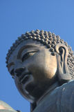 The Tian Tan Buddha. Closeup by Katharina Notarianni Royalty Free Stock Images