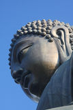 The Tian Tan Buddha. Closeup by Katharina Notarianni Stock Image