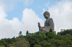 Tian Tan Buddha or Giant buddha on Lantau Island Royalty Free Stock Image