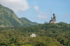 Tian Tan Buddha or Giant buddha on Lantau Island Royalty Free Stock Images